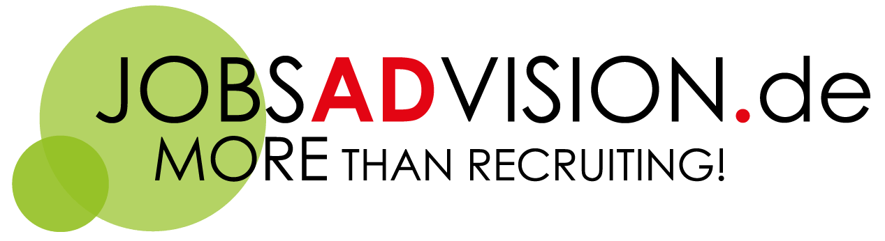 JOBADVISION-Logo-More-Than-Recruting-Grün-Punkt-Rot